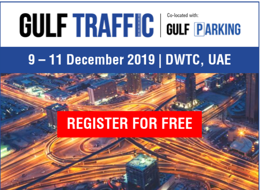 Dubai to host Gulf Traffic exhibition and Conference in December