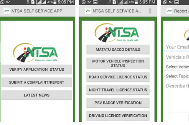 Mobile app used to rein in rogue drivers in Kenya